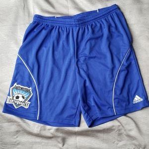 Men's adidas MLS Earthquakes Training Shorts